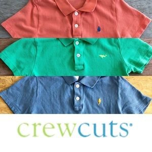 Set of 3 J. Crew Crewcuts Polo Shirts